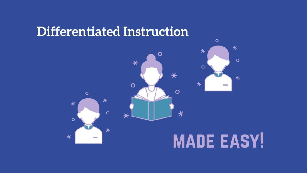 how to differentiate instruction, differentiated instruction, different levels