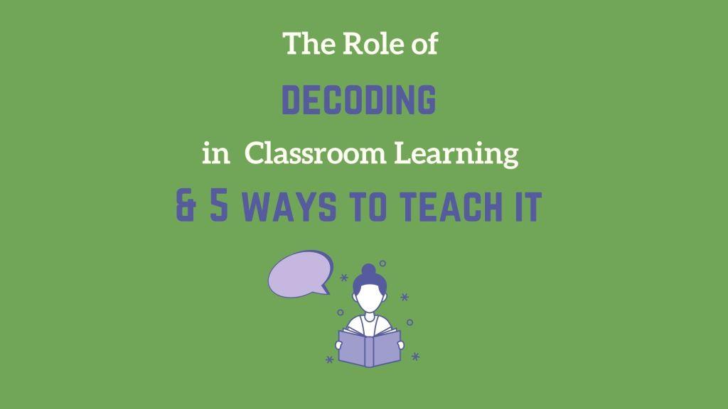 decoding, how to teach decoding, decoding skills, pronunciation. phonics, phonemic awareness